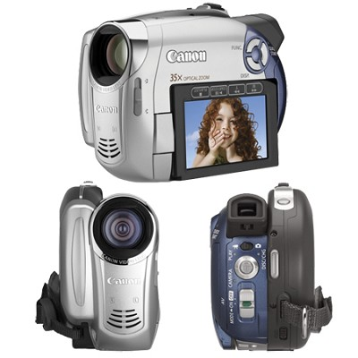 DC-210 Super Slim DVD Camcorder With 35x Optical Zoom