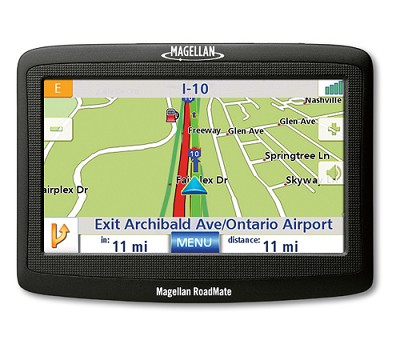 RoadMate 1412 Portable Car GPS Navigation System