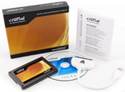 64GB Crucial C300 2.5` Solid-State Drive with Data Transfer Kit
