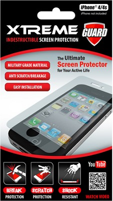 Indestructible Impact Proof Screen Protector for Iphone 4/4S