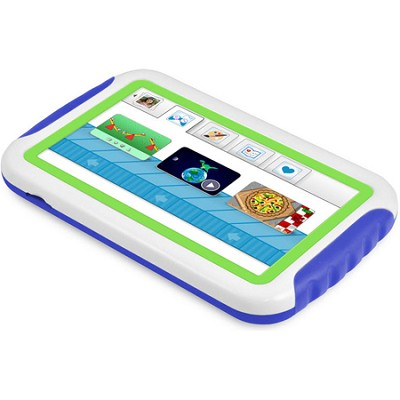 FunTab Mini 4GB 4.3` Multi-Touch Screen Kids Tablet (Blue and Green)
