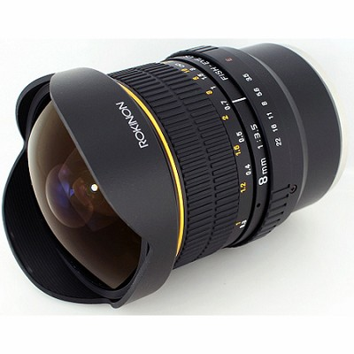 8mm f/3.5 Fisheye CS Lens for Sony E-mount (NEX & VG10)