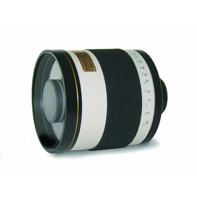 800mm f/8.0 Mirror Lens For Sony DSLR Cameras