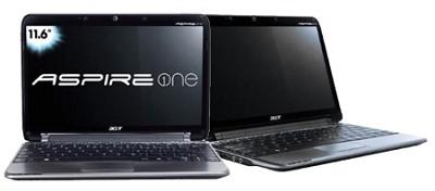 Aspire one 11.6` Netbook PC - Black (AO751H-1545)