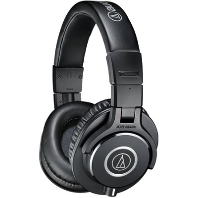 ATH-M40x Professional Studio Monitor Wired Headphone - Black