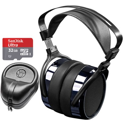 HE400i Special Edition Planar Magnetic Headphone Deluxe Bundle -Dark Blue Chrome