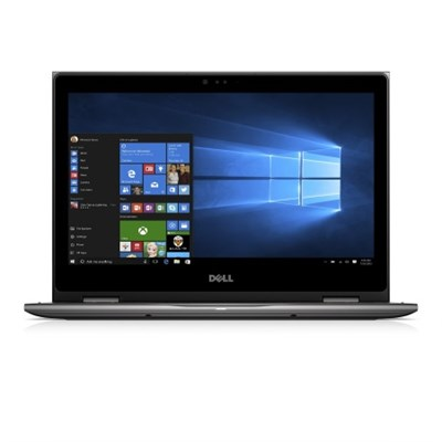Inspiron i5378-7171GRY 13.3` FHD 7th Gen i7 8GB 2-in-1 Laptop, Gray - OPEN BOX