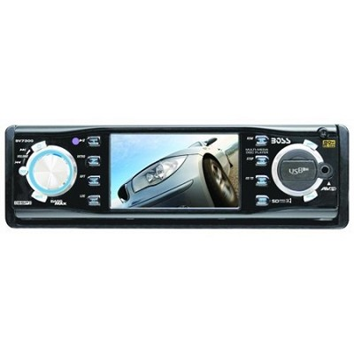 3.2-Inch In-Dash Widescreen TFT Monitor/DVD/MP3/CD Receiver