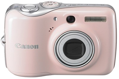 Powershot E1 IS Digital Camera (Pink)
