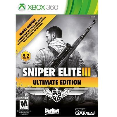 Sniper Elite III Ult Ed X360