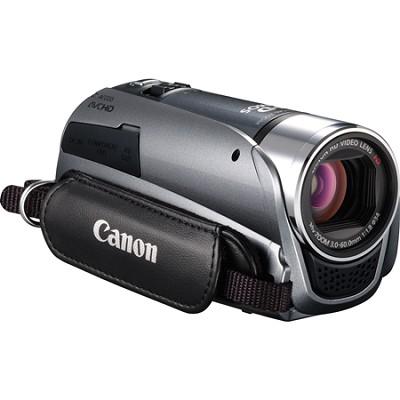VIXIA HF R20 8GB Flash Dual SD 1080p HD Silver Camcorder w/ 3.0` Touchscreen
