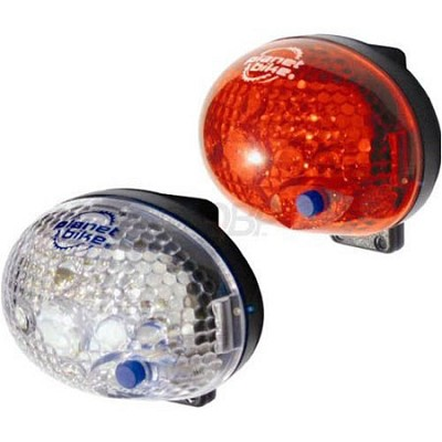 Blinky Safety 1-Led Bicycle Light Set
