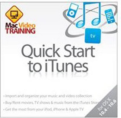 Guide on CD-ROM, Quick Start to iTunes, Tutorial, for Mac & Windows