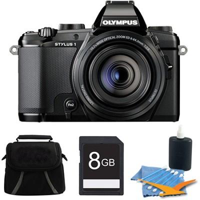 Stylus-1 12MP Digital Camera Black Kit