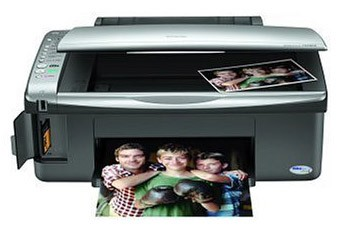 Stylus CX4800 All-In-One Printer, Copier, Scanner, and Card Reader