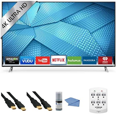 M70-C3 - 70-Inch 240Hz 4K Ultra HD Smart LED HDTV + Hookup Kit