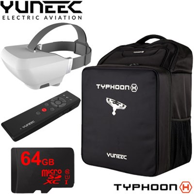 Typhoon H Accessory Kit w/ Wizard Wand, Skyview Goggles, Backpack & 64GB SD Card