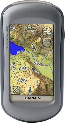 Oregon 400T High-Sensitivity GPS Receiver w/ US Topo Map