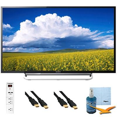 60` 1080p LED Smart HDTV Motionflow XR 480 Plus Hook-Up Bundle - KDL60W630B