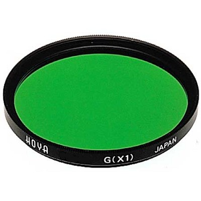 58mm X1 Green HMC Multi-Coated Glass Lens Filter - A-58GRX1-GB
