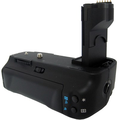 Vertical Battery Grip for Canon EOS 40D, 50D Series (Replaced BGE2)