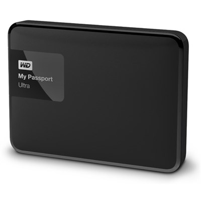 My Passport Ultra 4 TB Portable External Hard Drive, Black