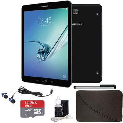 Galaxy Tab S2 9.7-inch Tablet - (32GB, WiFi, Black) 32GB Accessory Bundle