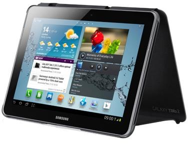 Galaxy Tab 2 10.1 Black Book Cover Recertified 90 Day Warranty EFC1H8NGECXAR