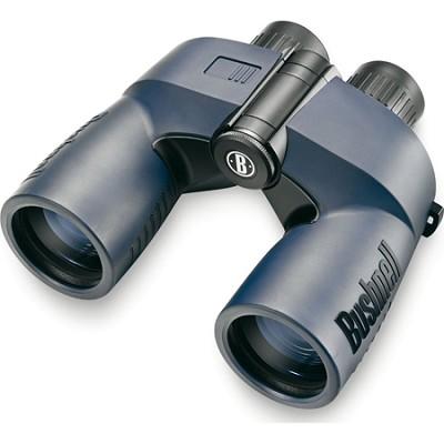 Marine Porro Prism Water/Fogproof Binoculars with Digital Compass, 7x50mm, Blue