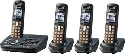 KX-TG6444T DECT 6.0 Expandable Digital Cordless Phone System