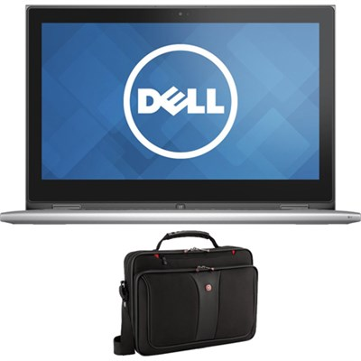 Inspiron 13 13.3` FHD Touch 256GB Intel Core i7-6500U PC w/ Wenger Laptop Case