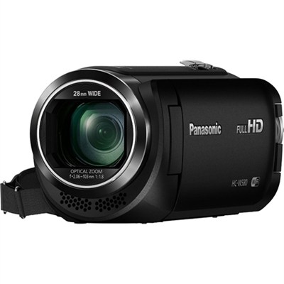HC-W580K Full HD Camcorder with Wi-Fi, Built-in Multi Scene Twin Camera - Black