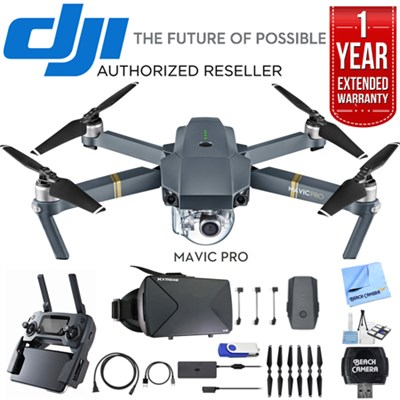 Mavic Pro Quadcopter Drone with 4K Camera and Wi-Fi with Ultimate Bundle