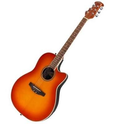 AE128-HB Acoustic Electric Guitar Honeyburst (Brown)