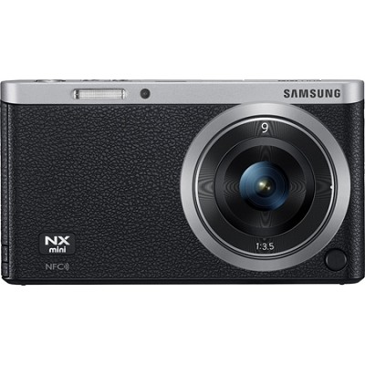 NX Mini Mirrorless Digital Camera with 9mm Lens - Black