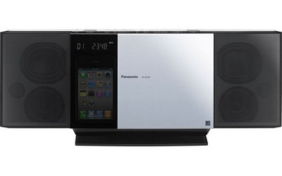 SC-HC35 Compact - Slim Wall Mountable Stereo System with iPod & iPhone dock