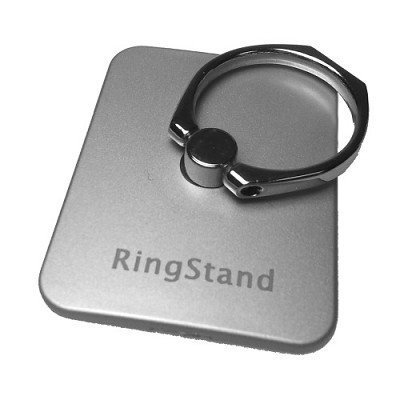 Universal Smart Holder & Stand for Any Phone or Tablet in Silver