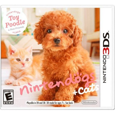 Nintendogs + Cats: Toy Poodle and New Friends for 3DS
