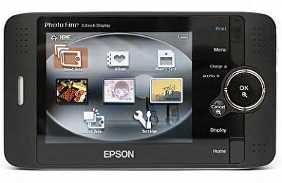 P-2000 Photo Viewer w/40GB Hard Drive and 3.8` LCD