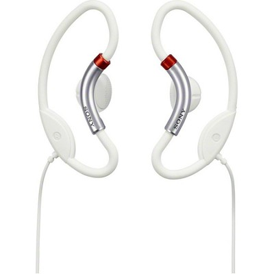 MDR-AS20J/WHI Active Style Headphones (White)