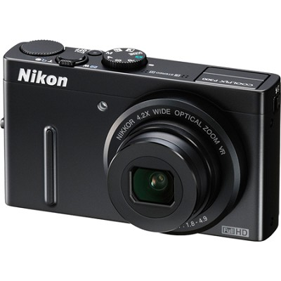 COOLPIX P300 12MP F1.8 Black Digital Camera