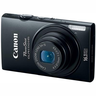 PowerShot ELPH 110 HS 16.1MP CMOS Black Digital Camera 5x Opt Zoom 1080p HD