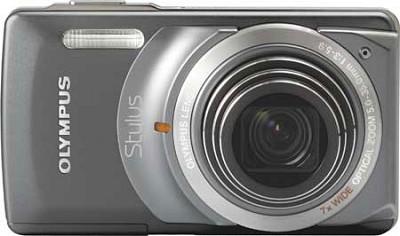 Stylus 7010 12MP Digital Camera - 7x Dual Image Stabilized Zoom, 2.7 LCD (Grey)