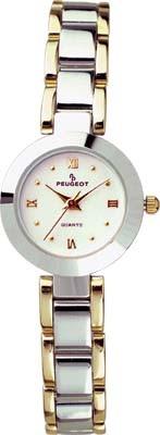 745TT Two Tone Metal Link Watch