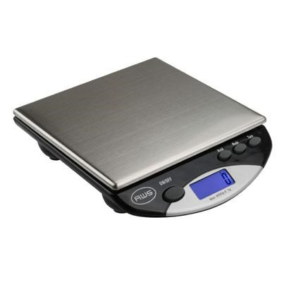 Digital Postal Kitchen Scale in Black - AMW13-BK