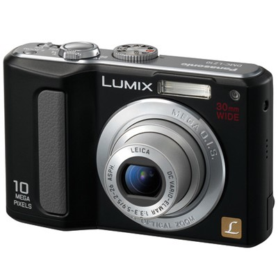 DMC-LZ10 (Black) Lumix 10 MP Digital Camera w/ 5x OpticalZoom2.5`LCD-REFURBISHED