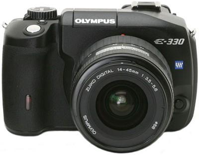 Evolt E-330 Digital SLR with Zuiko 14-45mm f/3.5-5.6 Zoom Lens Kit