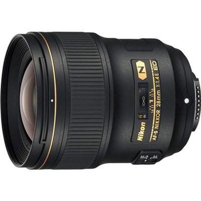 AF-S NIKKOR 28mm f/1.4E ED FX Full Frame Lens - 20069