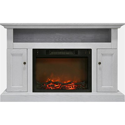 47.2 x15.7 x30.7  Sorrento Fireplace Mantel with Insert