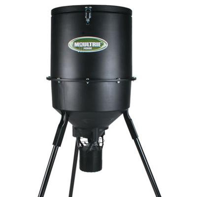 30-Gallon Pro-Hunter Tripod Feeder with Tapered Hopper